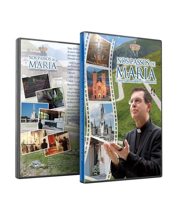 DVD NOS PASSOS DE MARIA