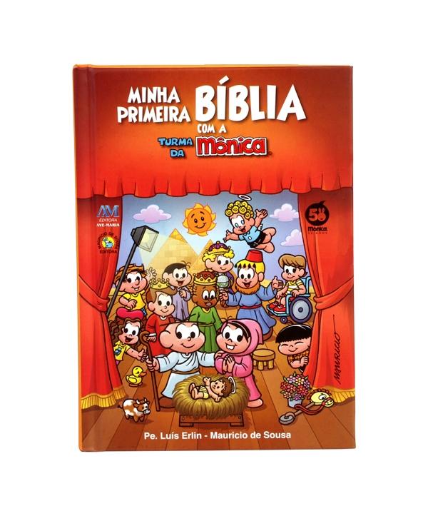 MINHA PRIMEIRA BIBLIA COM A TURMA DA MONICA