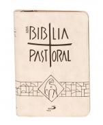 BÍBLIA NOVA PASTORAL MEDIA CREME