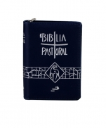 BÍBLIA NOVA PATORAL BOLSO ZIPER