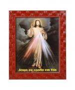 QUADRO 20X25CM JESUS MISERICORDIOSO