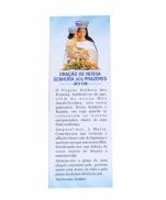 CARTÃO  DE N S PRAZERES COM ORAÇÃO