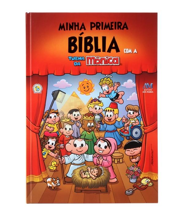 MINHA PRIMEIRA BIBLIA COM A TURMA DA MONICA GRD
