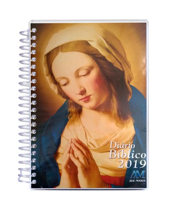 DIÁRIO BÍBLICO 2019 ESPIRAL MARIA