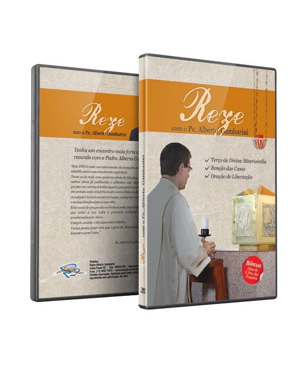 DVD REZE COM O PADRE ALBERTO
