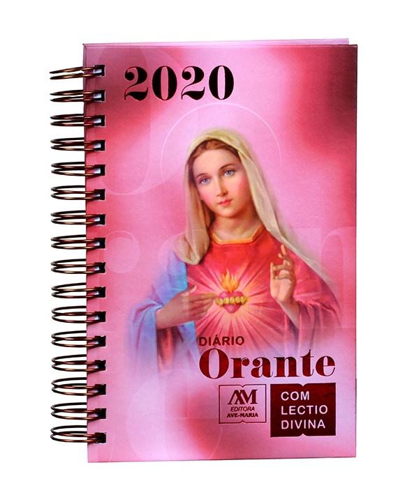 DIARIO ORANTE COM LECTIO DIVINA 2020 MARIA
