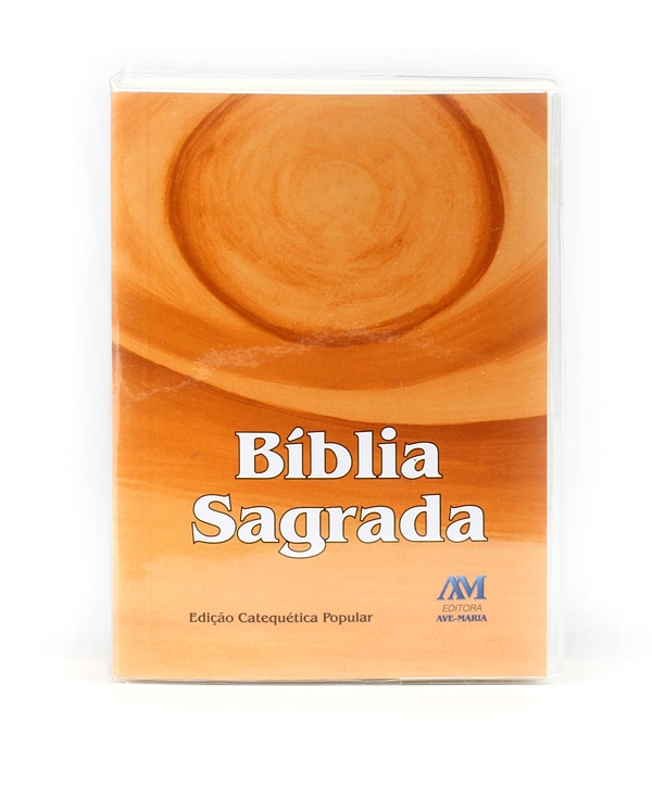 BÍBLIA AVE MARIA CATEQUÉTICA POPULAR BOLSO