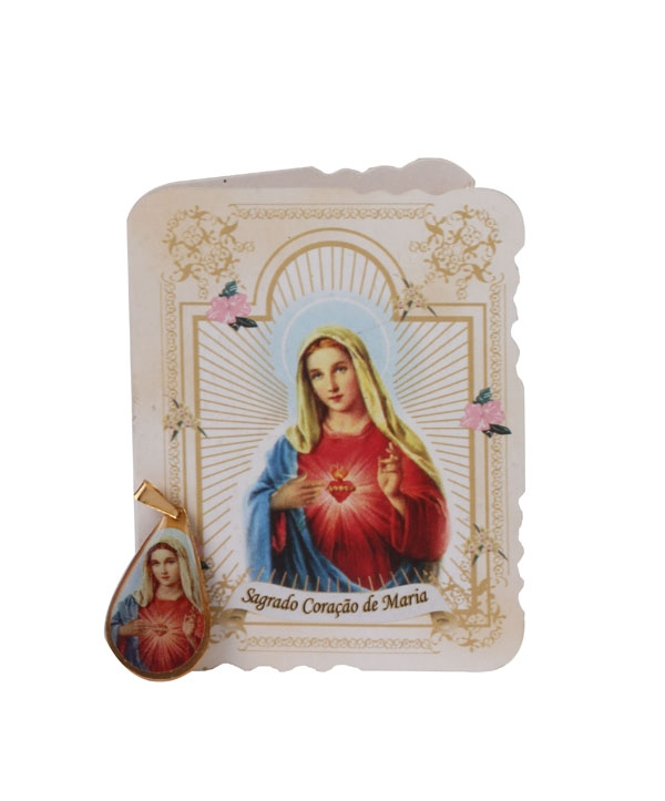 CARTÃO SP COM MED S CORACAO DE MARIA