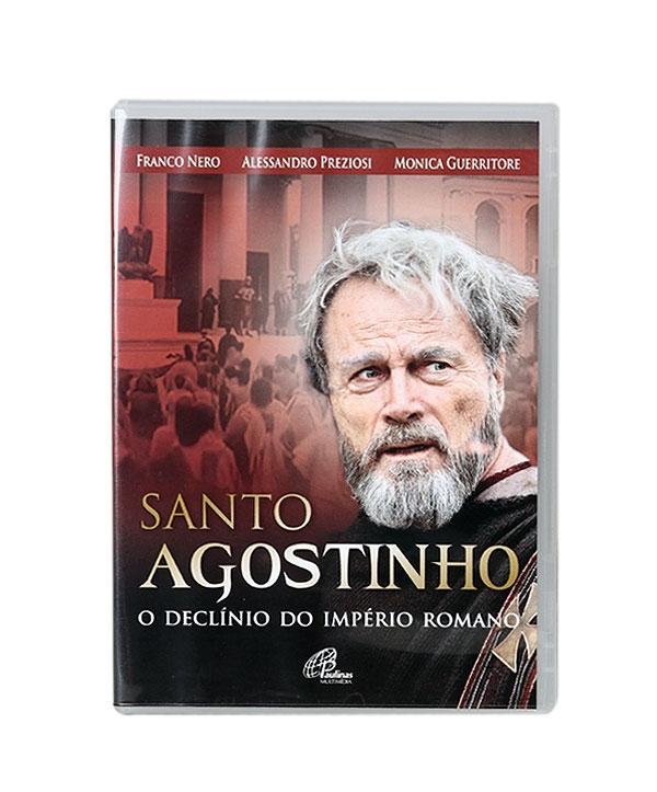 DVD SANTO AGOSTINHO O DECLINIO DO IMPERIO ROMANO