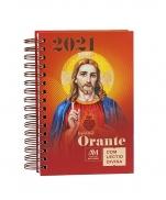 imagem do produto - DIARIO ORANTE COM LECTIO DIVINA 2021 JESUS
