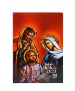 imagem do produto - DIARIO BIBLICO 2021 SAGRADA FAMILIA CAPA DURA
