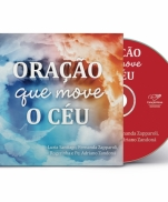 imagem do produto - CD ORAÇÃO QUE MOVE O CÉU