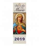 CALENDÁRIO DIA A DIA COM MARIA 2019