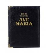 imagem do produto - BÍBLIA AVE MARIA CAPANGA AZUL MEDIA