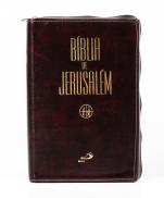 imagem do produto - BÍBLIA DE JERUSALÉM ZIPER