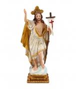 imagem do produto - IMAGEM JESUS RESSUSCITADO 20CM