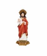 IMAGEM SAGRADO CORAÇÃO DE JESUS 13CM FLORENCE