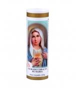 imagem do produto - VELA 7 DIAS SAGRADO CORAÇÃO DE MARIA