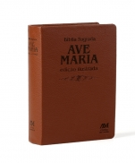 BÍBLIA AVE MARIA ILUSTRADA LUXO MEDIA