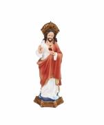 IMAGEM SAGRADO CORAÇÃO DE JESUS 10CM FLORENCE
