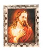 QUADRO 20X25CM JESUS COMPLACENTE