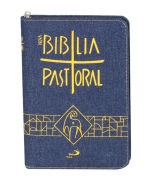 imagem do produto - BÍBLIA NOVA PASTORAL MEDIA JEANS