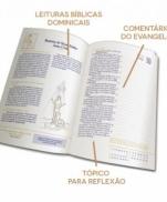DIÁRIO BÍBLICO 2019 LUXO LARANJA FLORAL