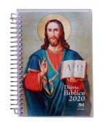 imagem do produto - DIARIO BIBLICO 2020 ESPIRAL JESUS