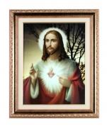 imagem do produto - QUADRO 30X40CM SAGRADO CORAÇÃO DE JESUS