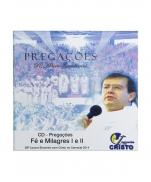 imagem do produto - CD PREGAÇÃO FÉ E MILAGRES I E II
